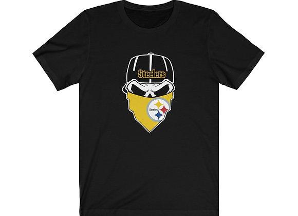 Pittsburgh Steelers Skull Tee