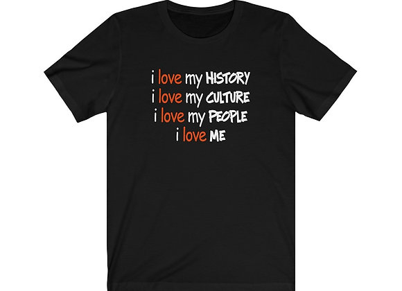 I Love My History Tee
