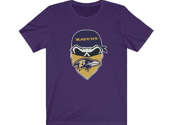 Baltimore Ravens Skull Tee