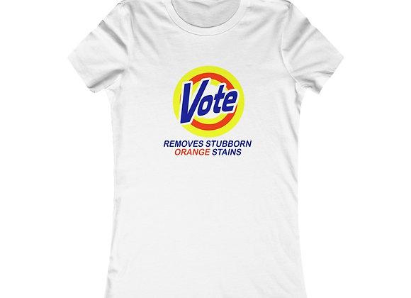 """Vote"" (Removes Stubborn Orange Stains) Short Sleeve Tee"
