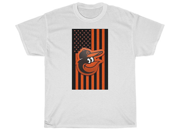 Oriole Bird Flag Short Sleeve Tee