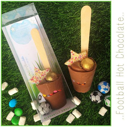 Football Hot Chocolate Spoon