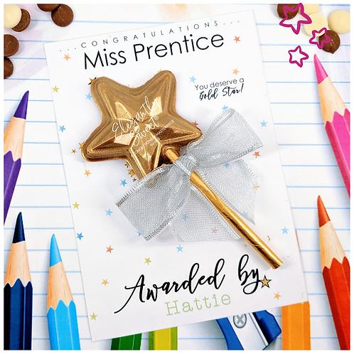 Teachers Gold Star Award