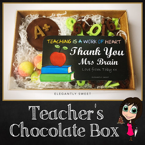 Teacher's Chocolate Box