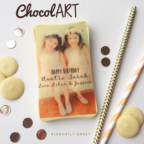 ChocolART Printed Chocolate Bars