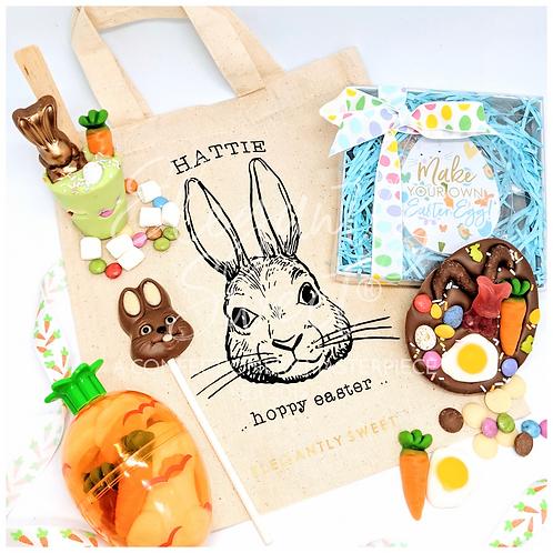 Personalised Hoppy Easter Bag