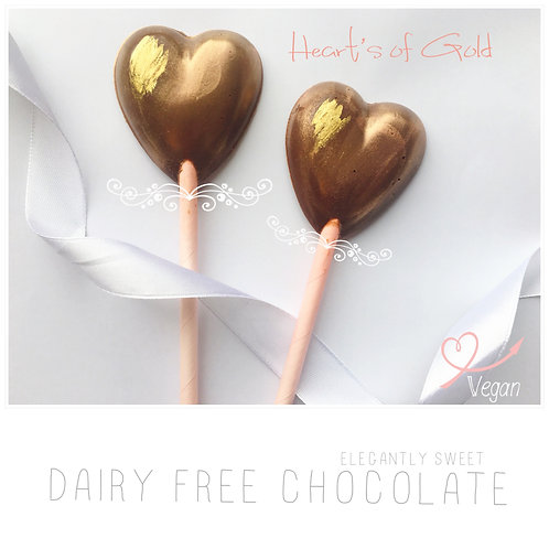 Dairy Free Hearts of Gold