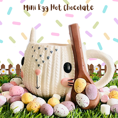 Mini Egg Hot Chocolate Spoon