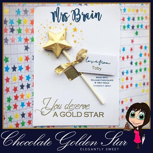 Chocolate Golden Star