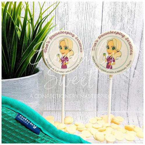 Branded Lollipops