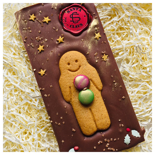 Gingerbread Man Slab