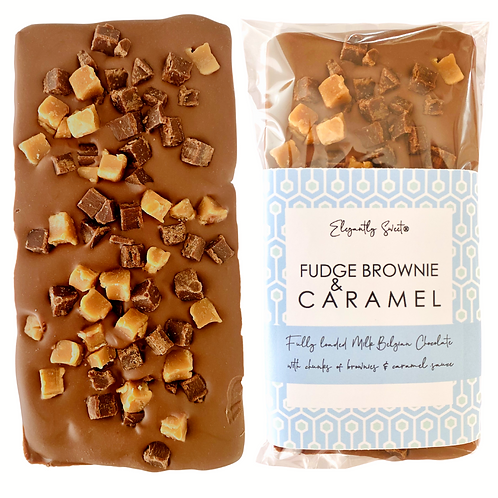 Chocolate Fudge & Caramel Brownie