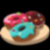 —Pngtree—red_donut_blue_donut_chocol