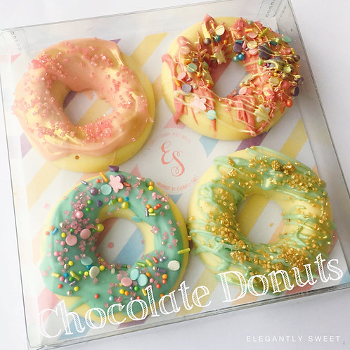 Unicorn Chocolate Donuts