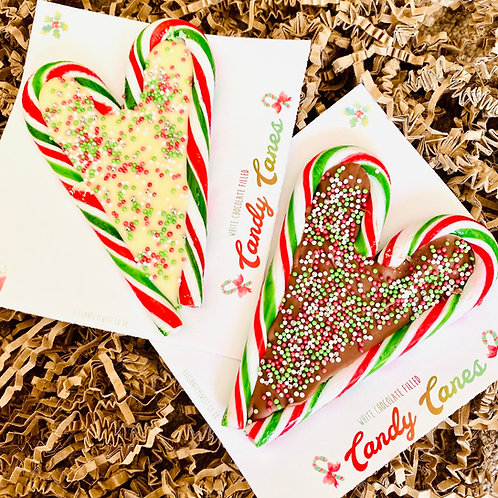 Candy Cane Heart
