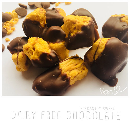 Dairy Free Dipped Honeycomb
