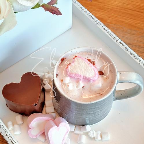 Hot Chocolate Heart Bomb