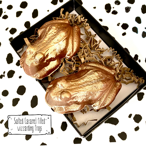 Popping Caramel Chocolate Frogs