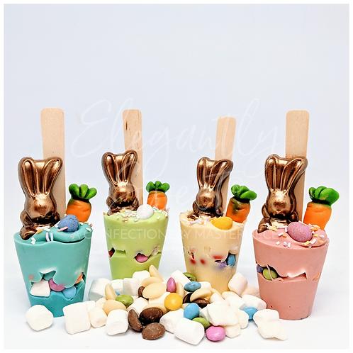 Easter Bunny Dunk & Stir Hot Chocolate
