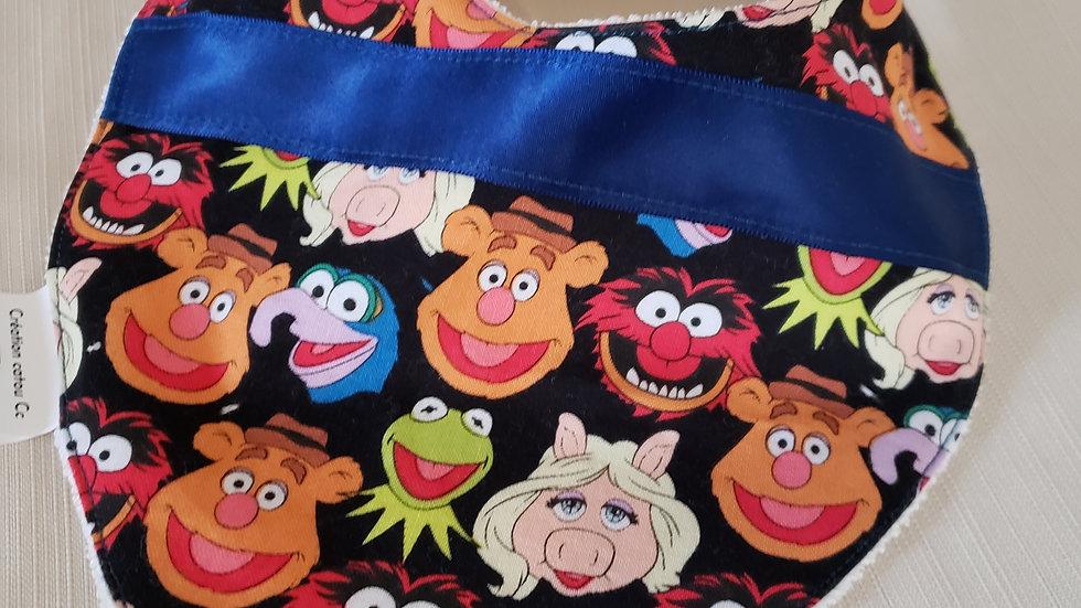 Bavoir bandana Muppets