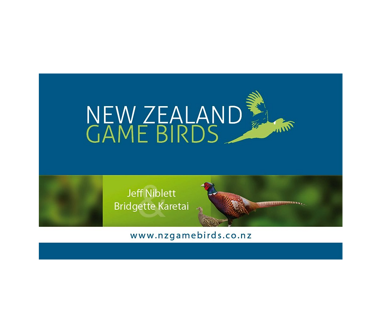 Works zealand zoom print and design business card new zealand game bird business card reheart Image collections