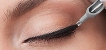 Eye liner cosmetic tattoo