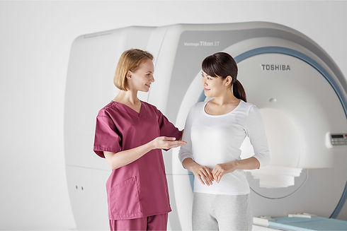 MRI system with patient and tech_from To