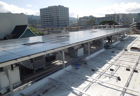 Solar Support Structures Service Hawaii | EcoShade