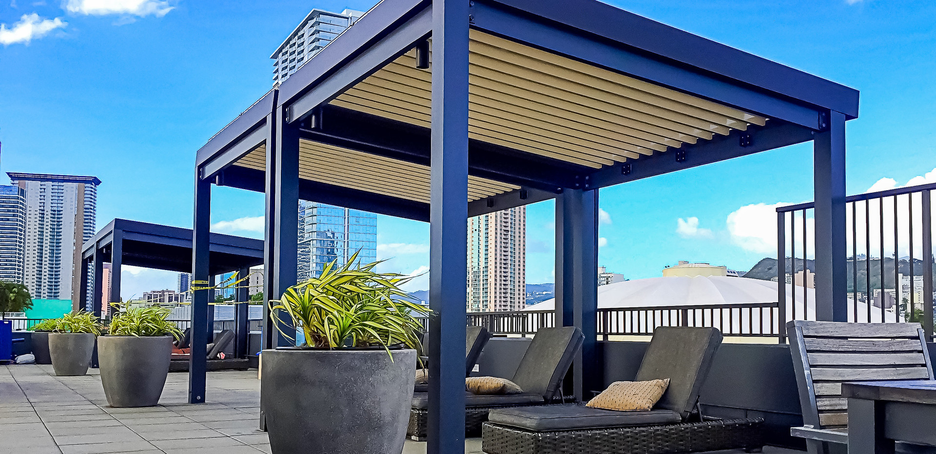 Louvered Roofs Installation Hawaii | Ecoshade