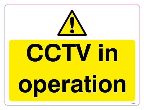 CCTV in operation