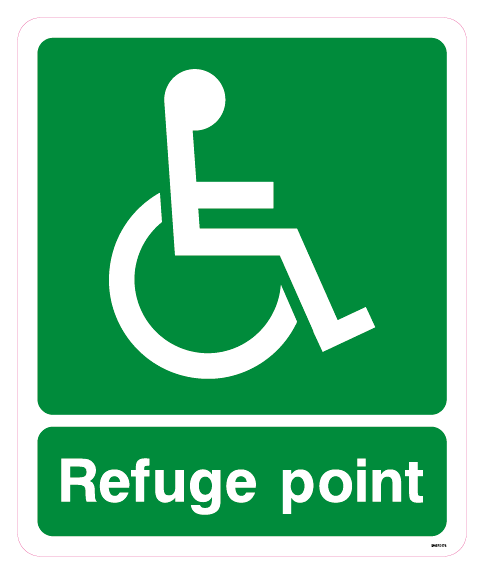 Refuge point disabled