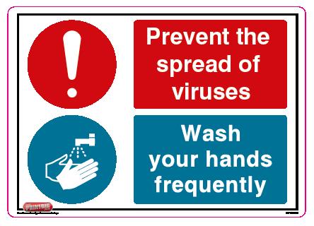 Prevent the spread of viruses