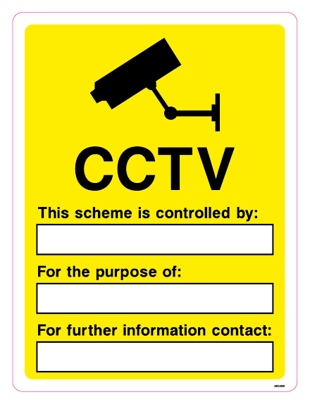 CCTV - This scheme is controlled by: For the purpose of: For further information