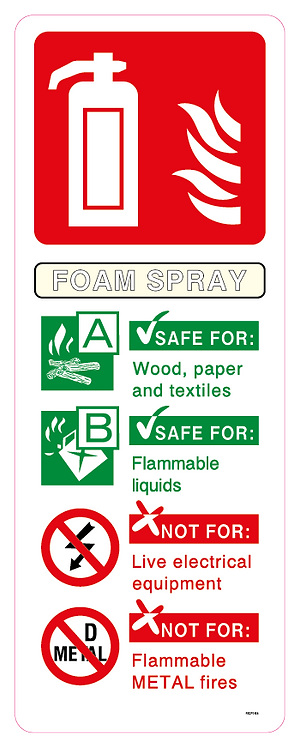 Fire FOAM SPRAY