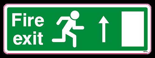 Fire exit Arrow Up
