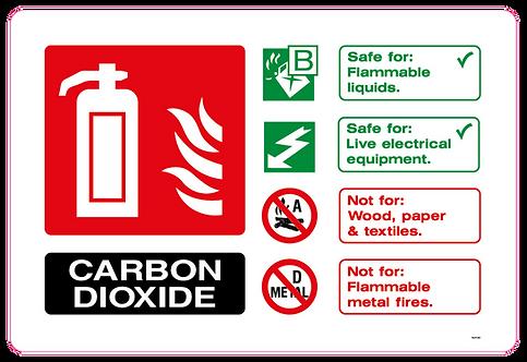 Fire CARBON DIOXIDE