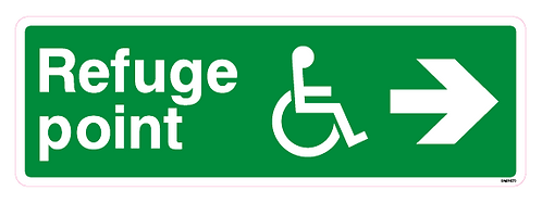 Refuge point Arrow right Disabled