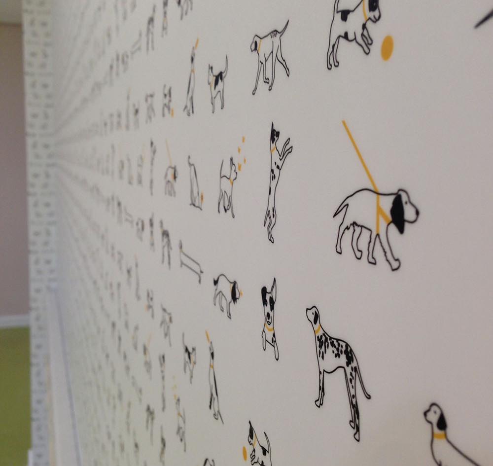 Bespoke wall paper