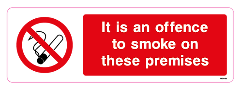 It is an offence to smoke on these premises