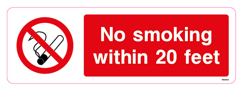 No Smoking within 20 feet