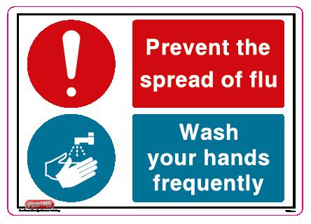 Prevent the spread of flu