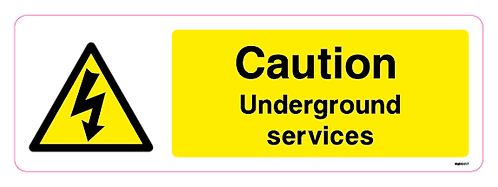 Caution Underground services