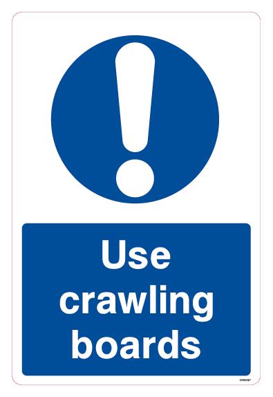 Use crawling boards