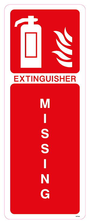 Extinguisher Missing