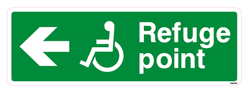 Refuge point Arrow left Disabled