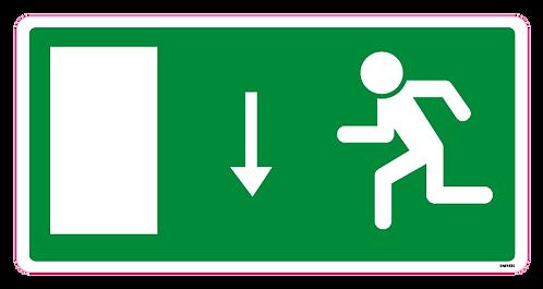 Exit Arrow Down