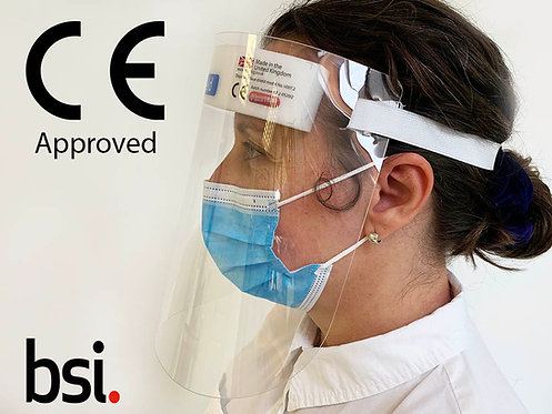 CE Approved Face Visors - Pack of 10