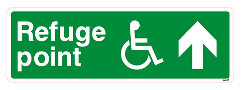 Refuge point Arrow up Disabled