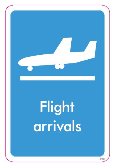 Flight arrivals