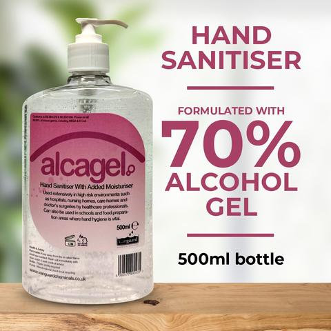 Hand Sanitiser 500ml pump